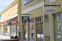 格洛斯特优质出口购物中心的看法 库存图片