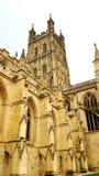 格洛斯特大教堂,正式地theÂ圣皮特圣徒・彼得大教堂教会和圣洁和不可分的三位一体,inÂ格洛斯特,Â英国, 免版税图库摄影