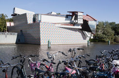 格罗宁根博物馆在荷兰 库存照片