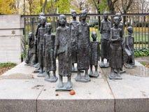 格罗斯汉堡包Strasse犹太公墓 免版税库存照片