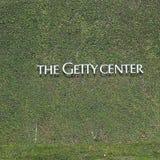 格蒂中心的看法 图库摄影