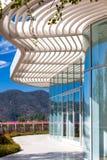 格蒂中心的建筑特点 免版税库存照片