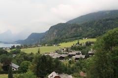 格蒙登,奥地利,年2010年 库存图片