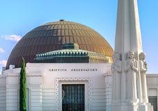 格里菲斯观测所在洛杉矶,加利福尼亚,美国 库存图片