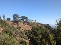 格里菲斯观测所在洛杉矶,美国 免版税库存图片