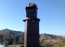 格里菲斯观测所在洛杉矶,美国 库存照片
