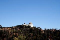 格里菲斯观测所风景 免版税库存图片