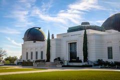 格里菲斯观测所-洛杉矶,加利福尼亚,美国 图库摄影