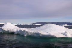 格陵兰冰山 库存照片