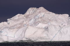 格陵兰冰山 库存图片