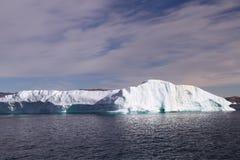 格陵兰冰山 免版税库存图片