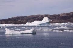 格陵兰冰山 图库摄影