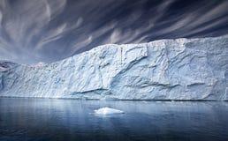 格陵兰冰川 免版税库存图片