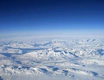 格陵兰山 免版税库存照片