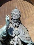 格雷戈里奥教皇雕象XIII,波隆纳 库存照片