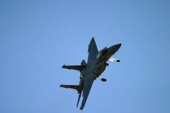 格鲁门公司F-14雄猫飞行 库存图片