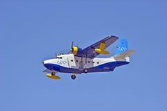 格鲁门公司HU-16信天翁两栖飞行船 库存图片