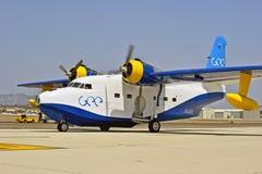 格鲁门公司HU-16信天翁两栖飞行船 库存照片