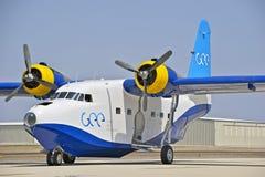 格鲁门公司HU-16信天翁两栖飞行船 免版税库存图片