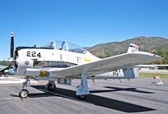 格鲁门F6F悍妇 免版税库存图片