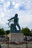 格洛斯特渔夫的纪念纪念碑 库存照片