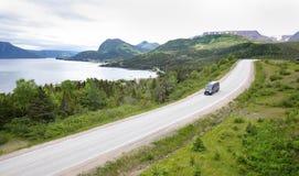 格洛斯Morne国家公园,纽芬兰,加拿大 库存图片