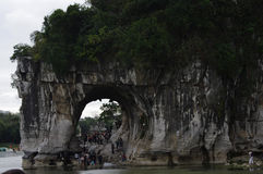桂林中国风景  库存照片