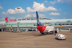 桂林机场 免版税库存图片
