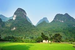 桂林lijiang河 库存图片
