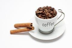 桂香咖啡 免版税库存照片