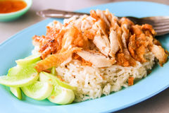 桂香奶油色小圆面包薄煎饼-泰国 库存图片