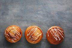 桂香小圆面包 图库摄影