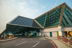 桃园机场在桃园,台湾 图库摄影