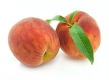 桃子成熟甜点 免版税库存图片