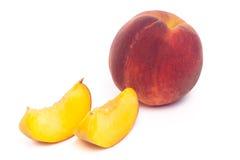 桃子果子 免版税库存图片