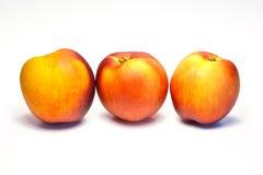 桃子油桃 库存图片