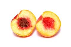 桃子甜点 库存照片