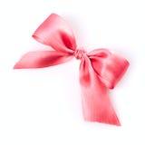 桃红色丝带 库存图片