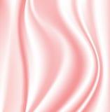 桃红色丝绸 免版税库存照片