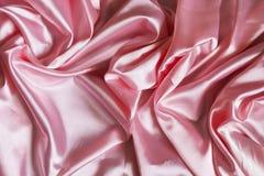 桃红色丝绸 库存图片