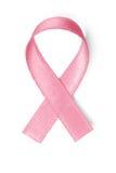 桃红色乳腺癌丝带 库存照片