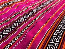 桃红色传统地毯 免版税图库摄影