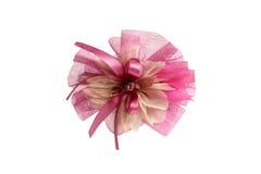 桃红色儿童的弓 库存照片
