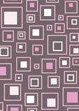 桃红色减速火箭的正方形 库存图片