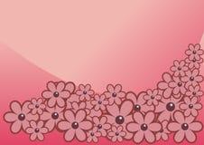 桃红色减速火箭 图库摄影