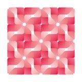 桃红色几何花纹花样 库存图片