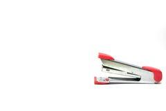 桃红色办公室订书机 免版税库存照片