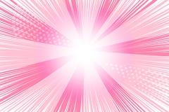 桃红色动画片背景 皇族释放例证