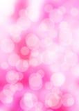 桃红色周期bokeh 库存图片