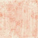 桃红色和奶油色锦缎背景 免版税库存照片